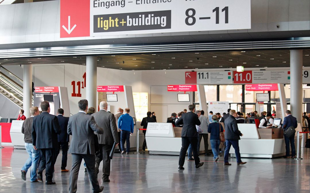 """Visit us at the """"light + building"""""""