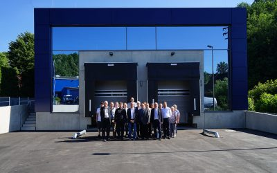 Inauguration of the new warehouse