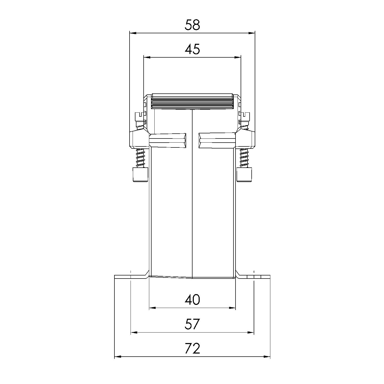 QUICK-45 KB 6-14 mm Armierungs-Abstandhalter//Krt a 500 St/ück